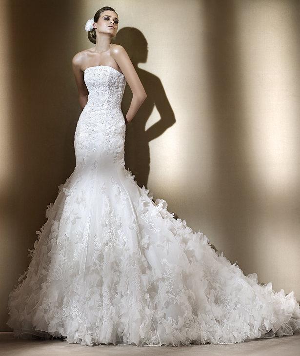 Свадебные платья 2012 - 47