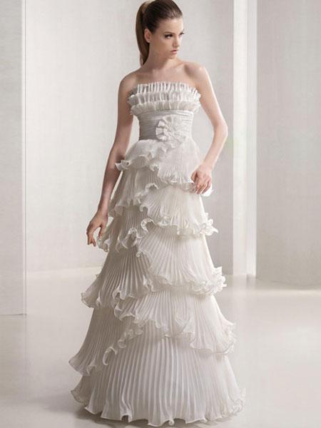Свадебные платья 2012 - 75
