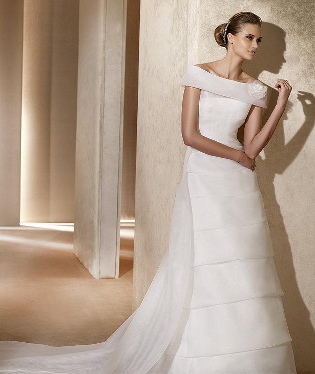 Свадебные платья 2012 - 77