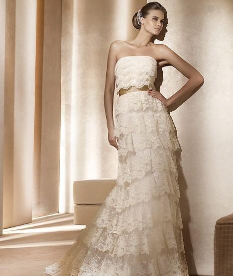 Свадебные платья 2012 - 86
