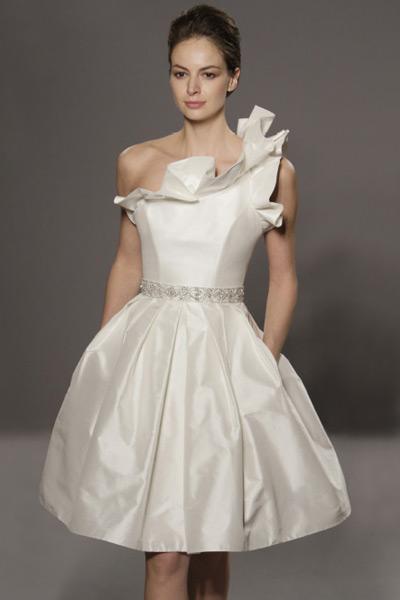 Свадебные платья 2012 - 6