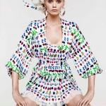 Эбби Ли Кершоу в коллекции Cruise 2012 от Versace для H&M