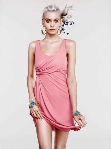 Эбби Ли Кершоу в коллекции Cruise 2012 от Versace и H&M (фото 5)