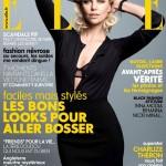 Шарлиз Терон на обложке Elle France январь 2012 (фото)