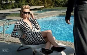 Шарлиз Терон на обложке Elle France январь 2012 (фото 11)