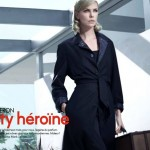 Шарлиз Терон на обложке Elle France январь 2012 (фото 2)