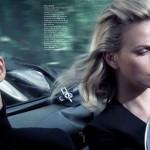 Шарлиз Терон на обложке Elle France январь 2012 (фото 6)