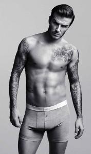 Дэвид Бекхэм в нижнем белье от H&M 2012 (фото 1)