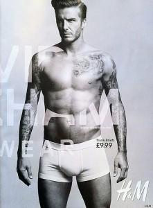 Дэвид Бекхэм в нижнем белье от H&M 2012 (фото 4)