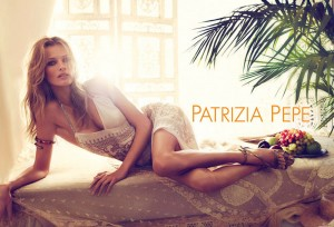 Эдита Вилькевичуте в фотосессии для Patrizia Pepe весна 2012 (фото 1)