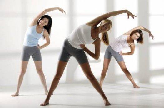 Физические упражнения для женщин
