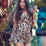 Джессика Миллер в рекламе Blugirl весна 2012 (фото)