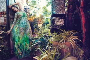 Джессика Миллер в рекламе Blugirl весна 2012 (фото 2)