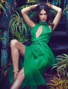 Джессика Миллер в рекламе Blugirl весна 2012 (фото 4)
