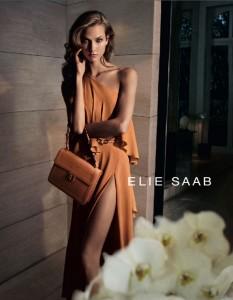 Карли Клосс в рекламной компании Elie Saab весна 2012 фото 1