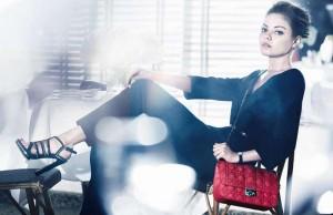 Мила Кунис в фотосете для Christian Dior (весна/лето 2012) фото 1