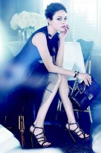 Мила Кунис в фотосете для Christian Dior (весна/лето 2012) фото 3