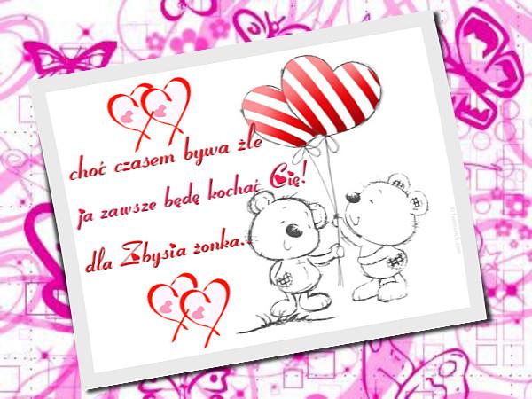 Поздравления С Днем Валентина на польском языке