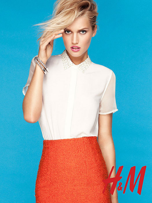 Тренды весны 2012 от Тони Гаррн и H&M (фото 1)