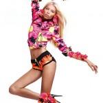 Вика Фалилеева в рекламной компании Blumarine весна 2012 (фото)