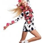 Вика Фалилеева в рекламной компании Blumarine весна 2012 (фото 2)