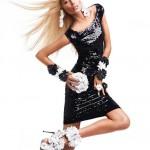 Вика Фалилеева в рекламной компании Blumarine весна 2012 (фото 3)