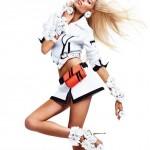 Вика Фалилеева в рекламной компании Blumarine весна 2012 (фото 4)