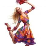 Вика Фалилеева в рекламной компании Blumarine весна 2012 (фото 5)