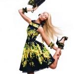 Вика Фалилеева в рекламной компании Blumarine весна 2012 (фото 6)