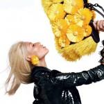 Вика Фалилеева в рекламной компании Blumarine весна 2012 (фото 7)