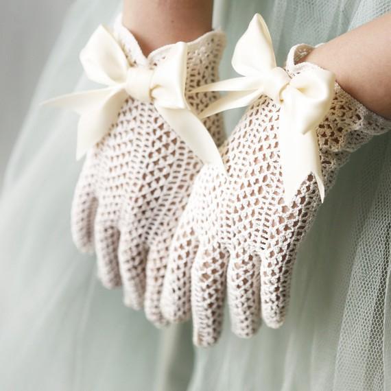 Свадебные перчатки 5