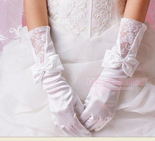 Свадебные перчатки 15