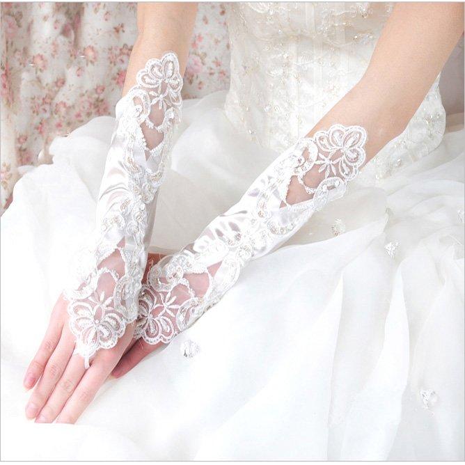 Свадебные перчатки 13