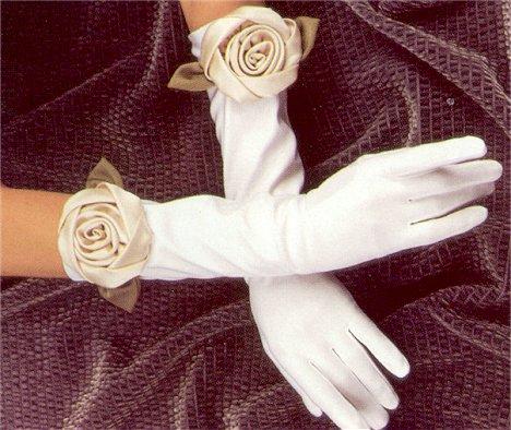 Свадебные перчатки 16