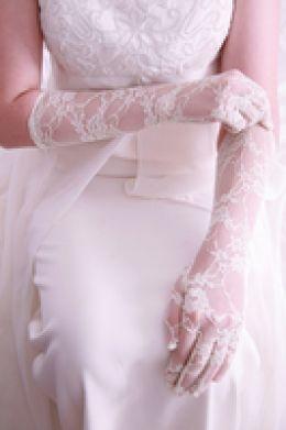 Свадебные перчатки 4