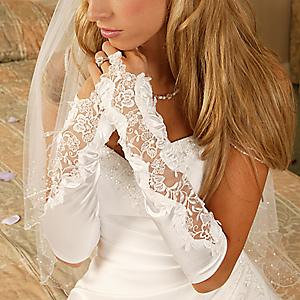 Свадебные перчатки 7