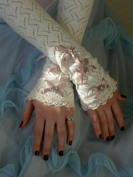 Свадебные перчатки 3