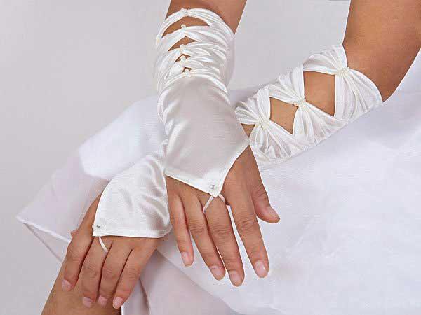 Свадебные перчатки 8