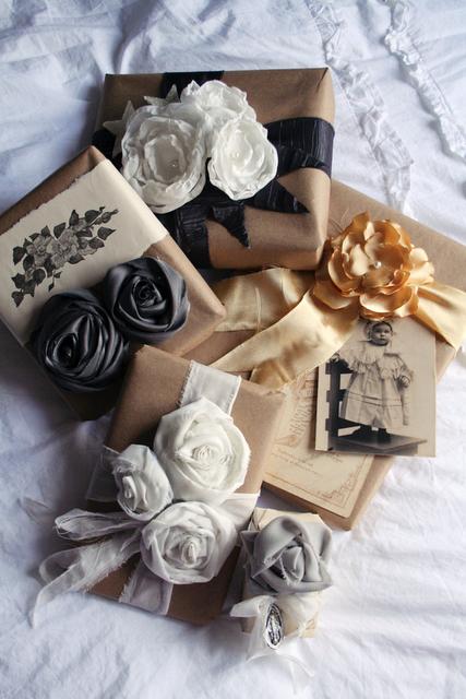 Упаковка подарков своими руками 33