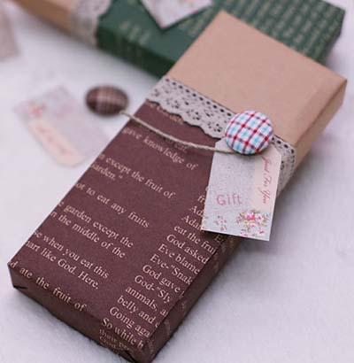 Упаковка подарков своими руками 35