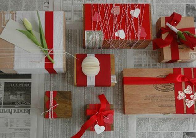 Упаковка подарков своими руками 37