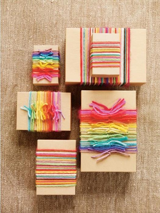Упаковка подарков своими руками 34