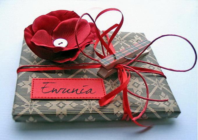 Упаковка подарков своими руками 40
