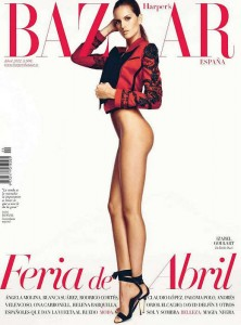 Изабель Гуларт в испанском номере Harper's Bazaar (апрель 2012) фото 1