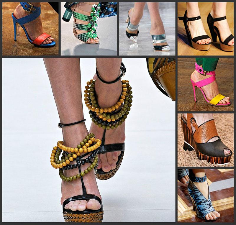 Модная обувь весна-лето 2012 - 4