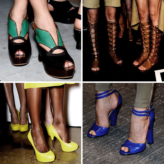 Модная обувь весна-лето 2012 - 7
