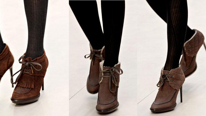 Модная обувь весна-лето 2012 - 14