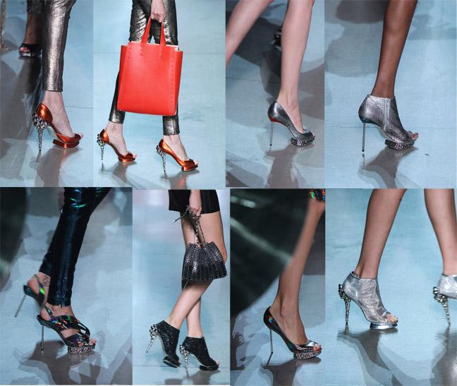Модная обувь весна-лето 2012 - 28