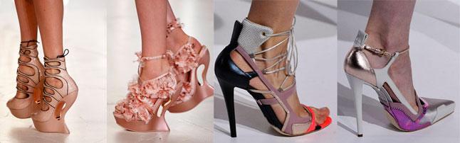 Модная обувь весна-лето 2012 - 2