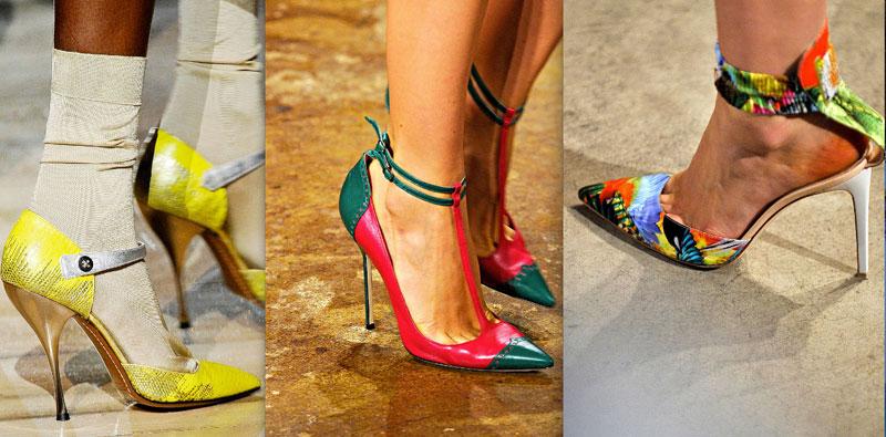 Модная обувь весна-лето 2012 - 18